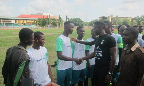 Kenneth Omeruo meets TurfSeason 2018 Talents in Matchday2 versus Legend FC at YABATECH Sports Complex, Powered by Dominos Pizza