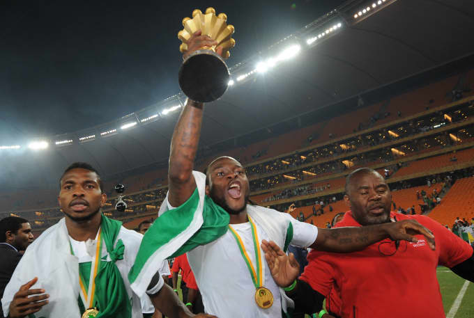 VICTOR MOSES AFCON